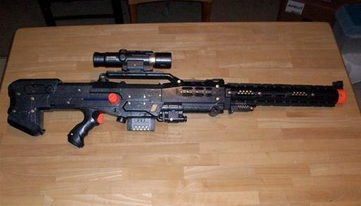 Personalized nerf guns!